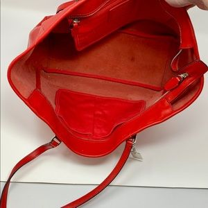 Authentic Coach Red Leather L1294-23576.